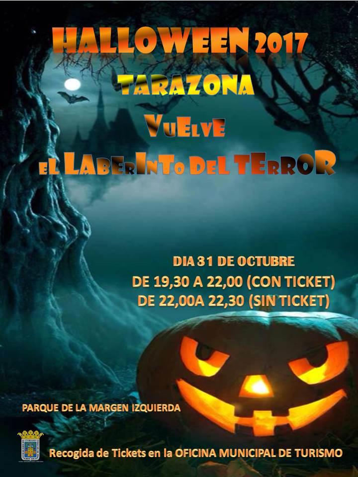 Celebraci n halloween 2017 ayuntamiento de tarazona for Oficina turismo tarazona