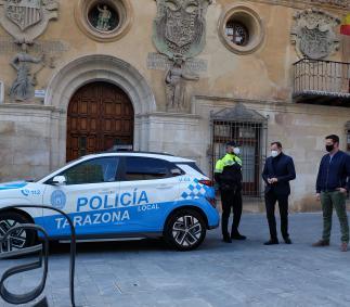 Vehículo nuevo para la Policía Local
