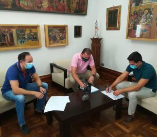 Reunión con el SD Tarazona