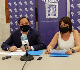 El Ayuntamiento de Tarazona firma del convenio con Pierres