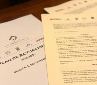 El Ayuntamiento aportará 300.000 € al convenio de Tarazona Monumental