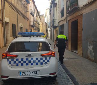 La Policía Local detiene a una persona por el robo de una piscina