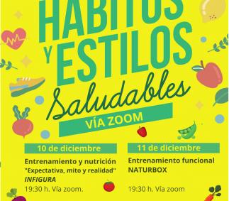 HABITOS Y ESTILOS SALUDABLES  - Ayuntamiento de Tarazona