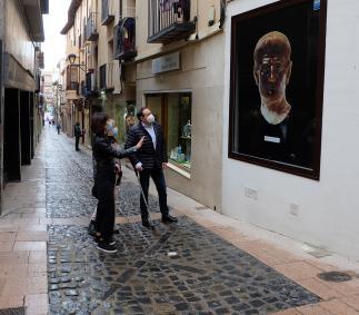 Exposición de escaparates en Tarazona