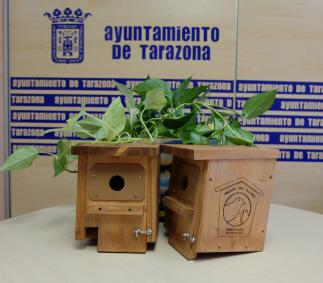 Cajas nido para pájaros de Tarazona