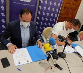 Convenio entre el Ayuntamiento y SD Tarazona