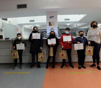 Premios del XXVIII Concurso de Postales Navideñas de Tarazona