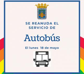 Se reanuda el servicio de autobús urbano en Tarazona
