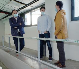 Medidas de seguridad ante el primer partido de Liga Nacional de  AD Balonmano Tarazona
