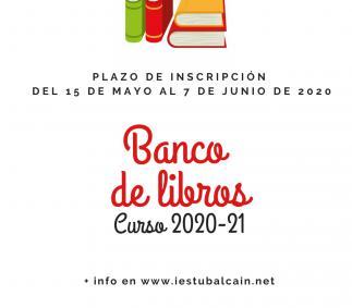 Banco de libros IES Tubalcaín curso 2020-21 - Tarazona