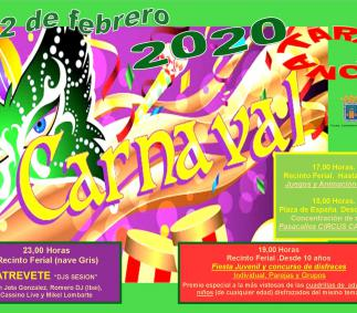Carnavales en Tarazona 2020