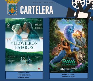 Cine del 21 al 23 de noviembre - Cartelera Tarazona