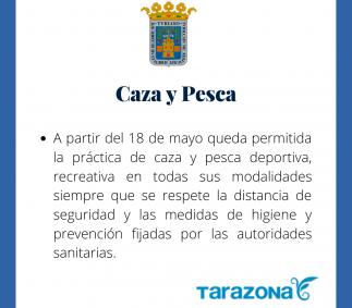 Caza y Pesca en Tarazona