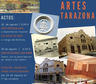 Tarazona celebra el centenario del Teatro Bellas Artes