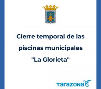 Cierre temporal de las piscinas municipales en Tarazona
