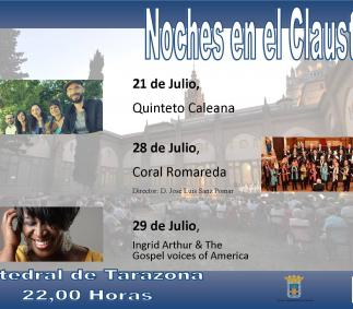 concierto, catedral, noche