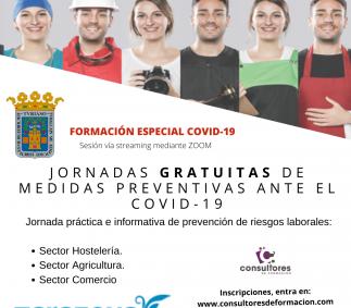 Jornadas informativas gratuitas COVID-19