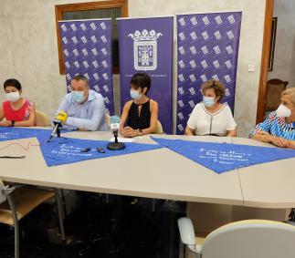 Pañoletas en apoyo de la Asociación contra el cáncer - Ayuntamiento de Tarazona