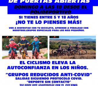 Jornada de Puertas Abiertas - Escuela Ciclista Tarazona