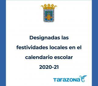 Designados los días festivos en el calendario escolar 2020-21