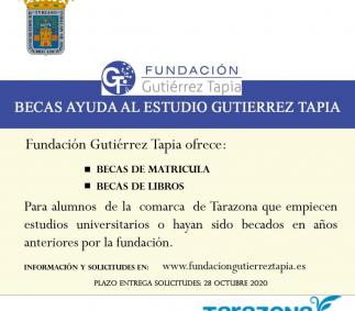 Becas Fundación Gutierrez Tapia
