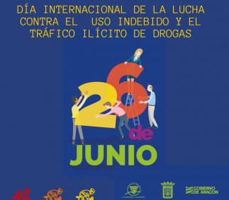 DÍA INTERNACIONAL  DE LA LUCHA CONTRA EL USO INDEBIDO Y EL TRAFICO ILICITO DE DROGAS - TARAZONA