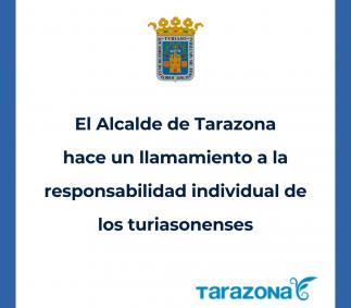 Llamamiento a la responsabilidad individual a los turiasonenses