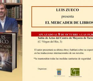 """Presentación del libro """"El Mercader de Libros"""" - Luis Zueco"""