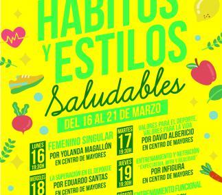"""Jornadas """"Hábitos y estilos Saludables"""" en Tarazona"""