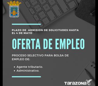 Proceso selectivo de bolsa de empleo Administrativo y Agente Tributario