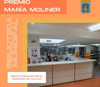 Premio María Moliner a la Biblioteca Municipal