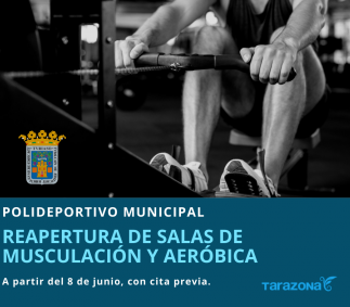 Reapertura de salas de gimnasio - Tarazona
