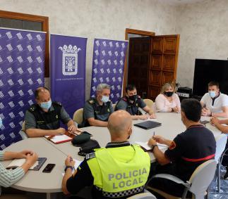 Primera reunión para el protocolo de las no fiestas Tarazona