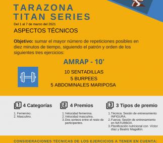 TITAN SERIES - Concurso deportivo Tarazona