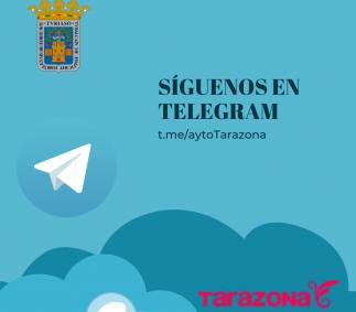 Síguenos en Telegram - Tarazona