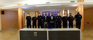 La Policía Local de Tarazona se refuerza con seis nuevos miembros
