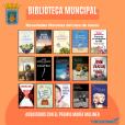 Novedades literarias en la Biblioteca en marzo