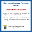 Ayuntamiento de Tarazona - Información a Agricultores y Ganaderos