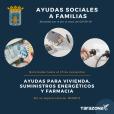 Ayudas sociales a familias afectadas por la crisis del COVID-19