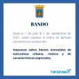 Bando - Cobro Impuesto Sobre Bienes Inmuebles