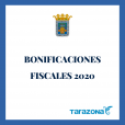 Bonificaciones fiscales 2020 - Ayto Tarazona