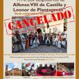 CANCELADA RECREACIÓN HISTÓRICA - DESPOSORIOS DE ALFONSO VIII DE CASTILLA Y LEONOR DE PLANTAGENET
