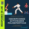 Inscripciones Actividades Polideportivo Municipal