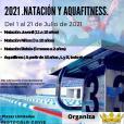 CURSILLOS INTENSIVOS DE VERANO   NATACIÓN Y AQUAFITNESS AYUNTAMIENTO DE TARAZONA