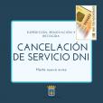 Ayuntamiento de Tarazona -  Se cancela la expedición, renovación y recogida de DNI, hasta nuevo aviso.