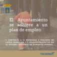 El Ayuntamiento contrata a 12 personas al adherirse a un plan de empleo con el INAEM