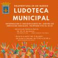 Reapertura de la Ludoteca Municipal - Tarazona