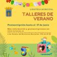 Talleres de verano 2021 - Tarazona