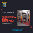 Reapertura de la Biblioteca Municipal de Tarazona